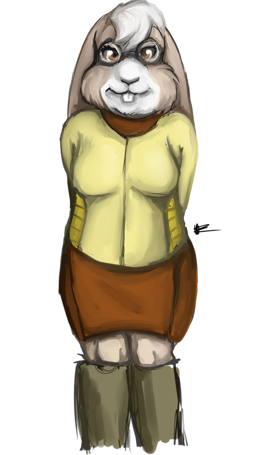 Lucy Hare by ImprobableCarny