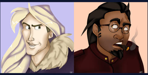 Portraits Again by ImprobableCarny