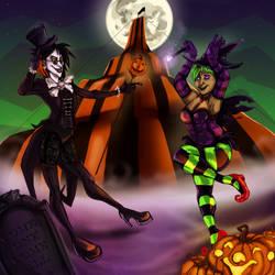Halloweenies by ImprobableCarny