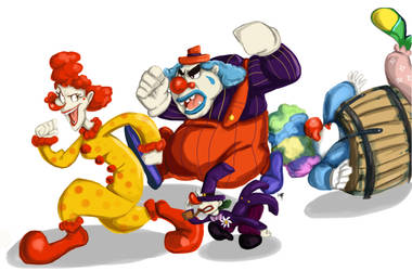 Send in the Clowns by ImprobableCarny