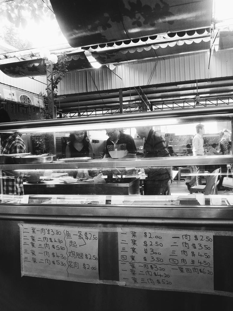 Food Stall by Ronaldwei
