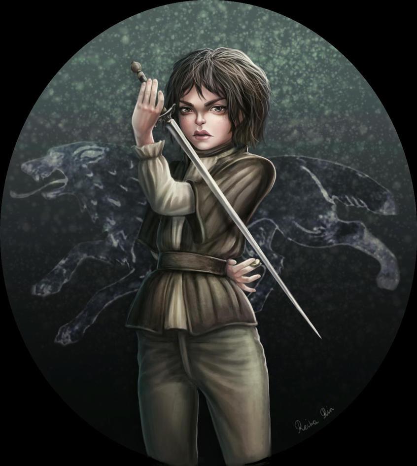 Arya Stark - valar morghulis by ReihaRin