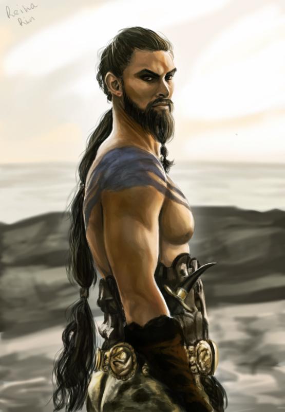 Khal Drogo by ReihaRin