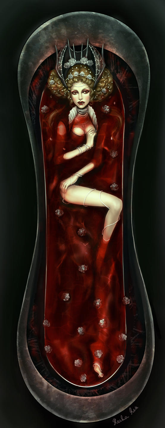 Countess Bathory by ReihaRin
