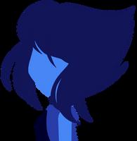 Lineless Drawing: Lapis Lazuli by RainbowCookiz