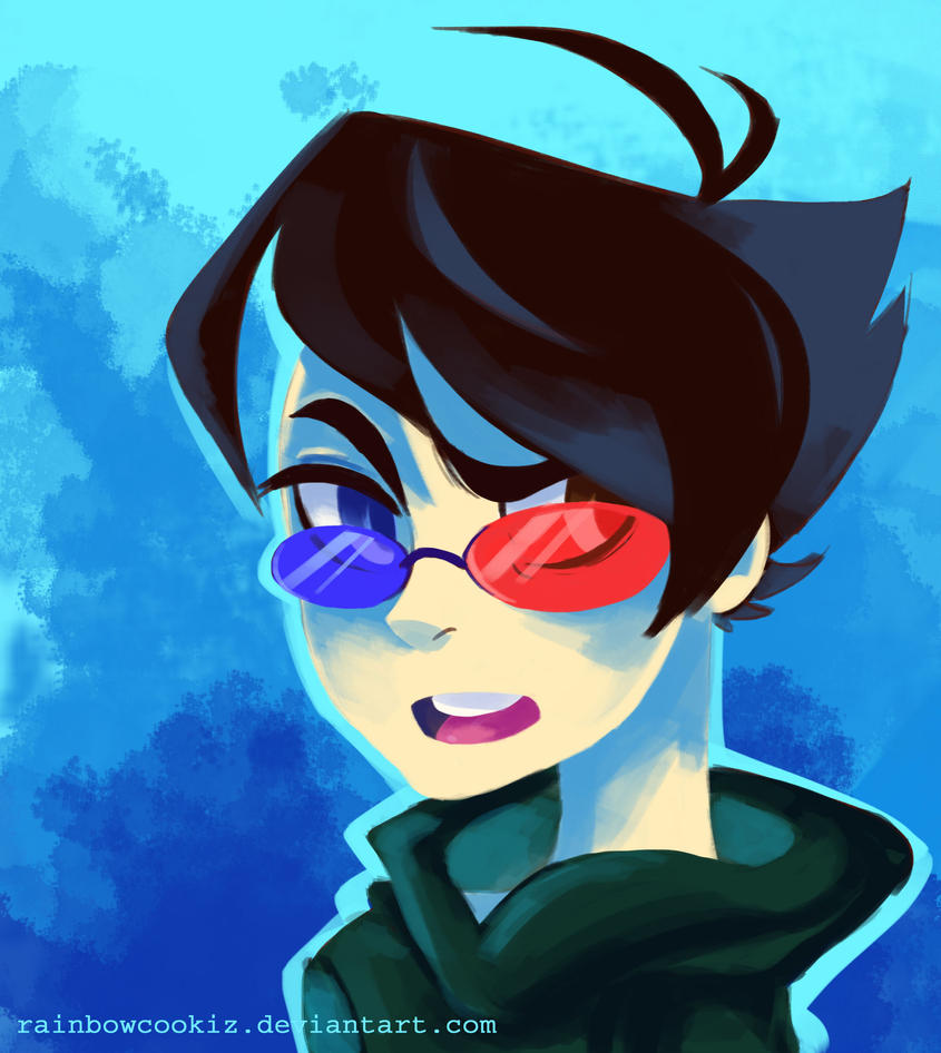 sollux captor week day 3 by rainbowcookiz on deviantart