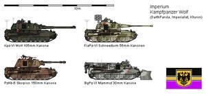 Kampfpanzer VI - Wolf - Updated