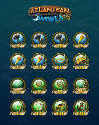 Achievement-icons by RothSteady