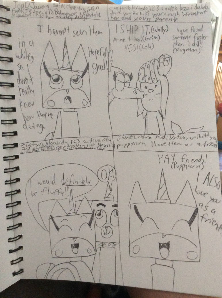 CUPHEAD DARE 14 AND Unikitty Ask Reply 9, 10, 11 by
