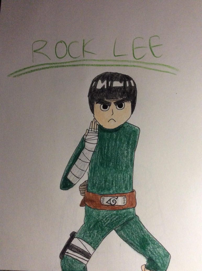 ROCK LEE by CyrusTheIceWing