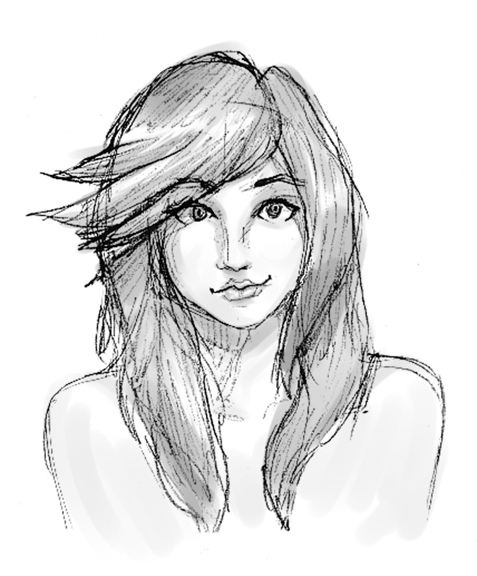 Pretty Girl Sketch Tum...