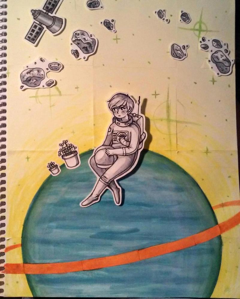 space kid.jpg by frecklee