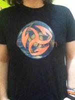 T-shirt Triskell Harpon by Envorenn