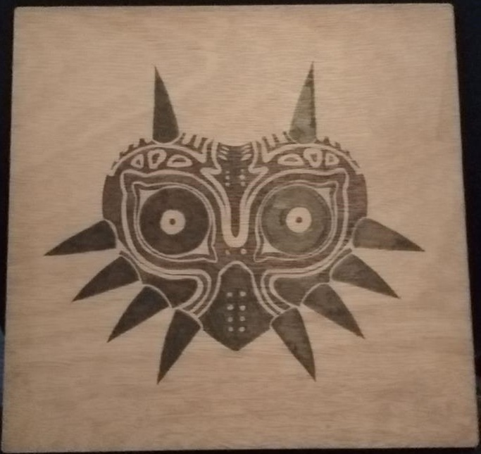 Majora's Mask 30x30 by Envorenn