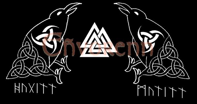 Huginn and Munninn by Envorenn