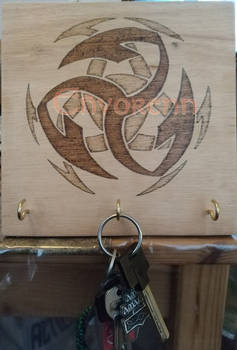 Harpoon Key Holder by Envorenn