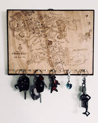 Middle Earth Map - modified