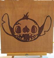 Stitch Skull by Envorenn