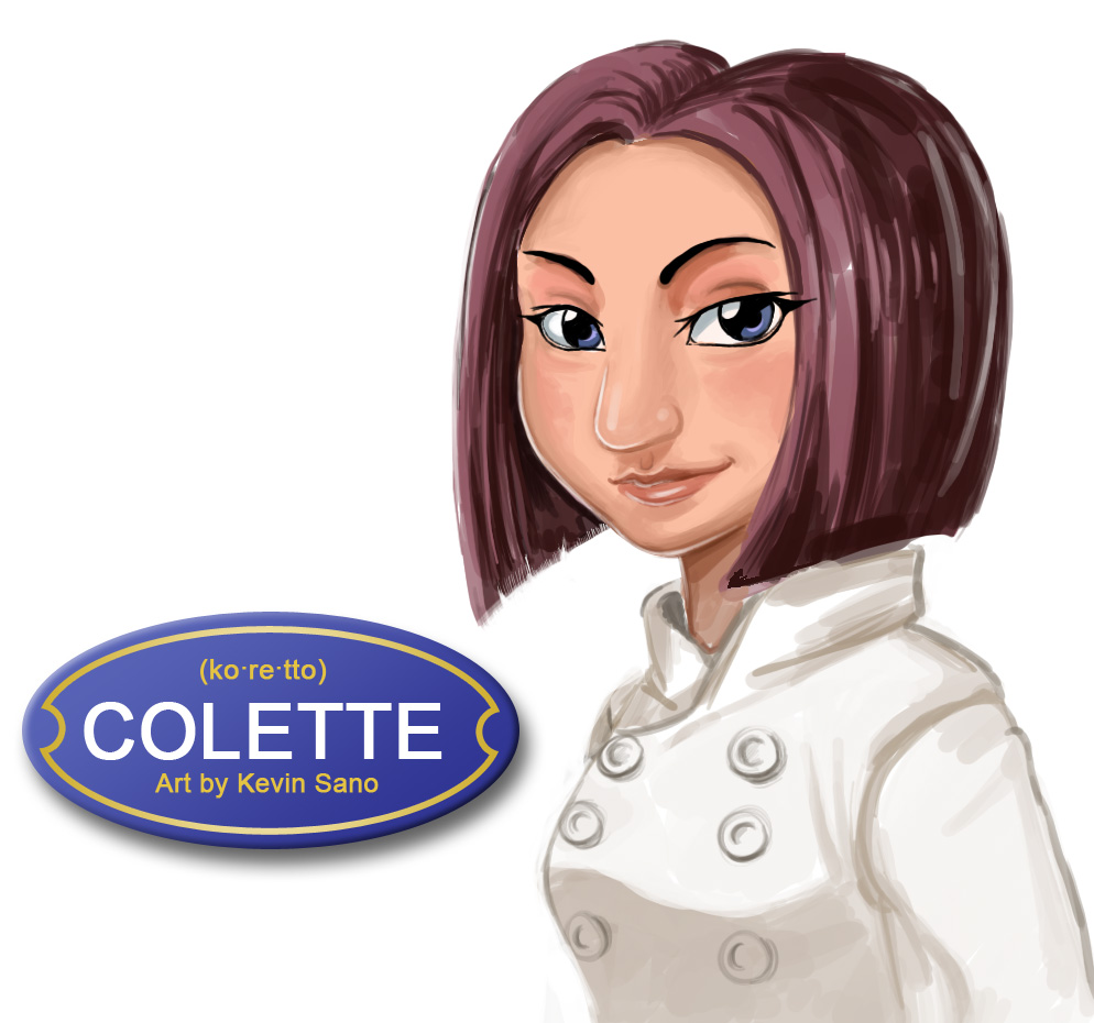 Ratatouille - Colette by kevinsano on DeviantArt