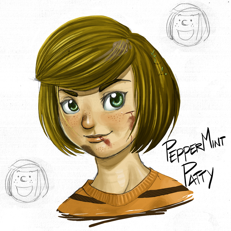 Peppermint Patty - color by kevinsano on DeviantArt