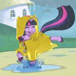 Trotting in the Rain