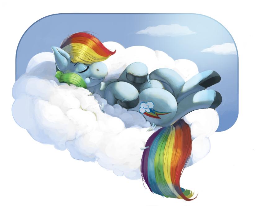 Rainbow Cloud by kevinsano