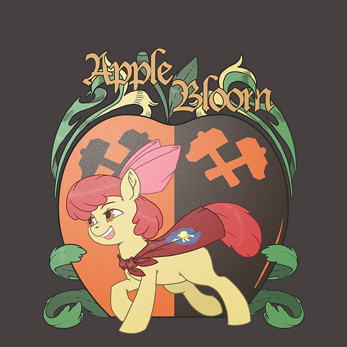 Apple Bloom Emblem by kevinsano