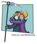 Grim jr. and Minimandy