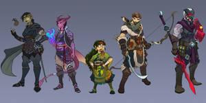 Tales of the Grimoire Cast