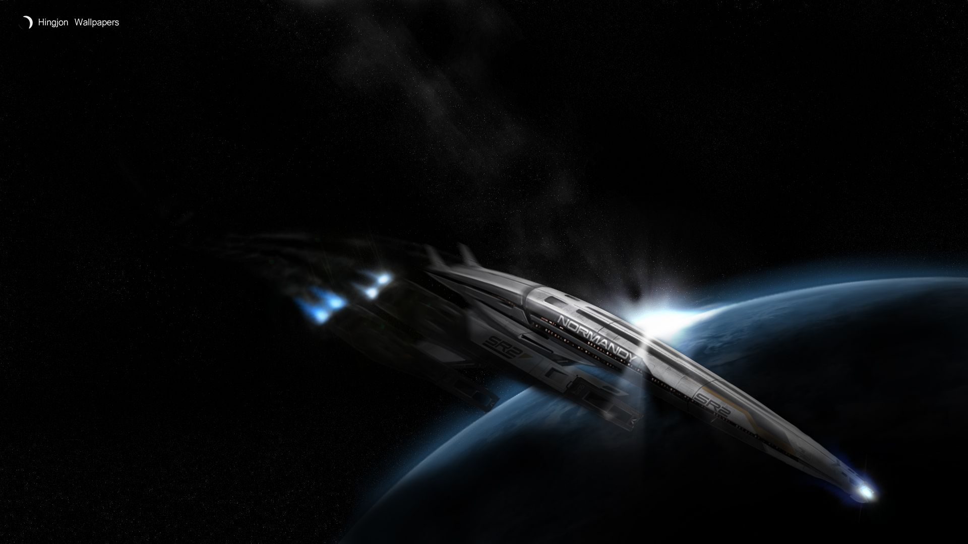 Mass Effect 2: Normandy SR2 by HingjonWallpapers