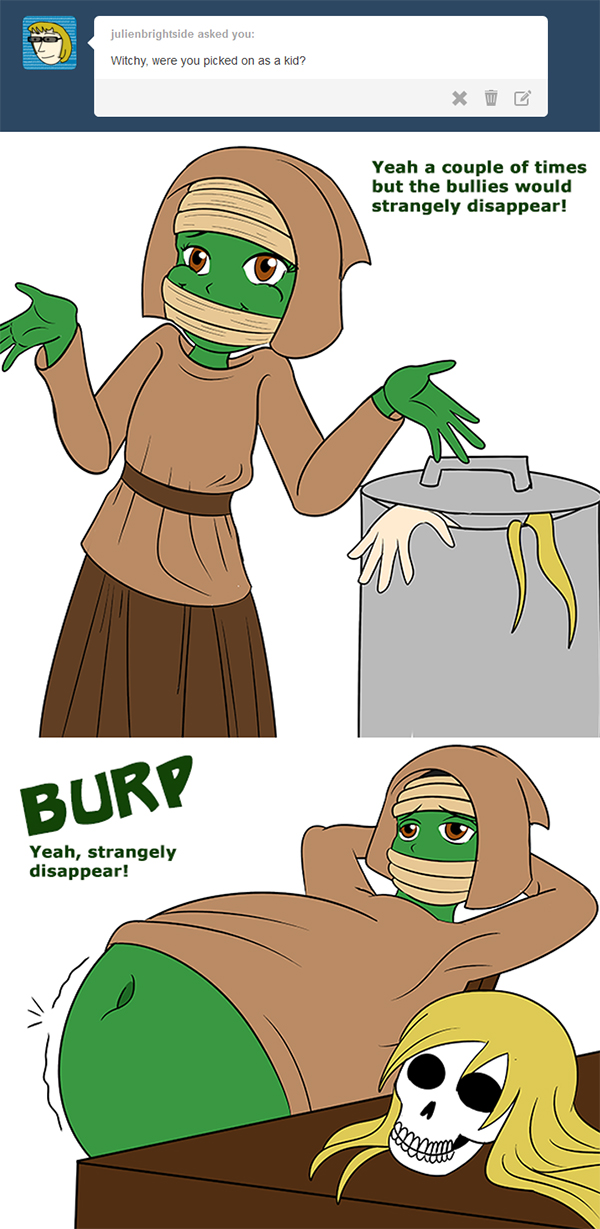 Ask 12: Bullies by Green-Glutton
