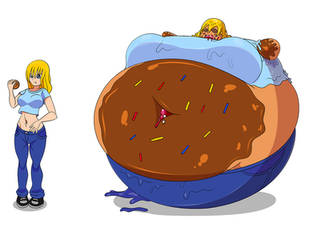 Pastry Inflation 1 - Tracie by Green-Glutton