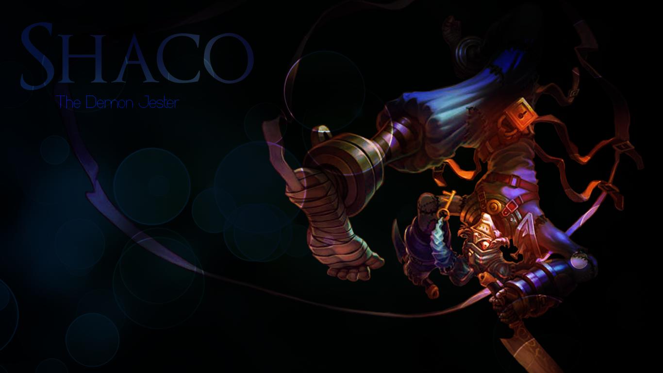 Shaco the demon jester by mkaa00x on deviantart shaco the demon jester voltagebd Gallery