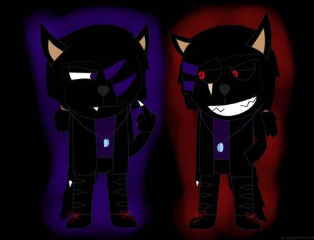 Darky e Darkey genderbend
