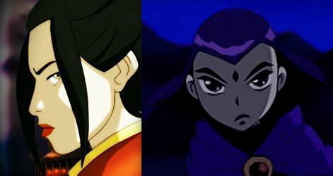 Azula vs. Raven