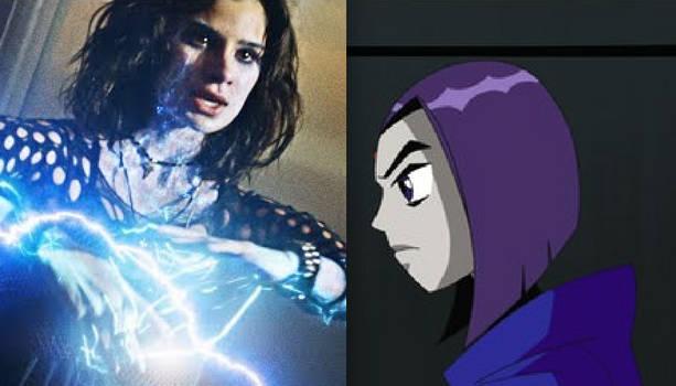 Crazy Jane vs. Raven