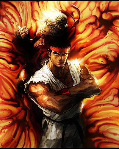 El Duo Ryu y Ken by Jeremias2596Centu