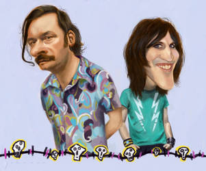The Mighty Boosh by drawmyface