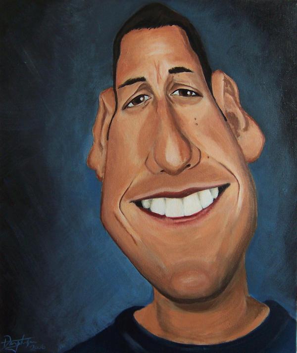 Caricaturas de famosos Adam_Sandler_Caricature_2_by_drawmyface