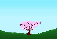 Pixel cherry blossom by Loupyboy