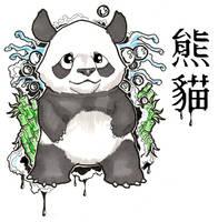 Panda by Velbette