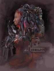 Deadlock colour by Velbette
