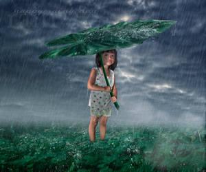 Rains day by GitteKoeppel