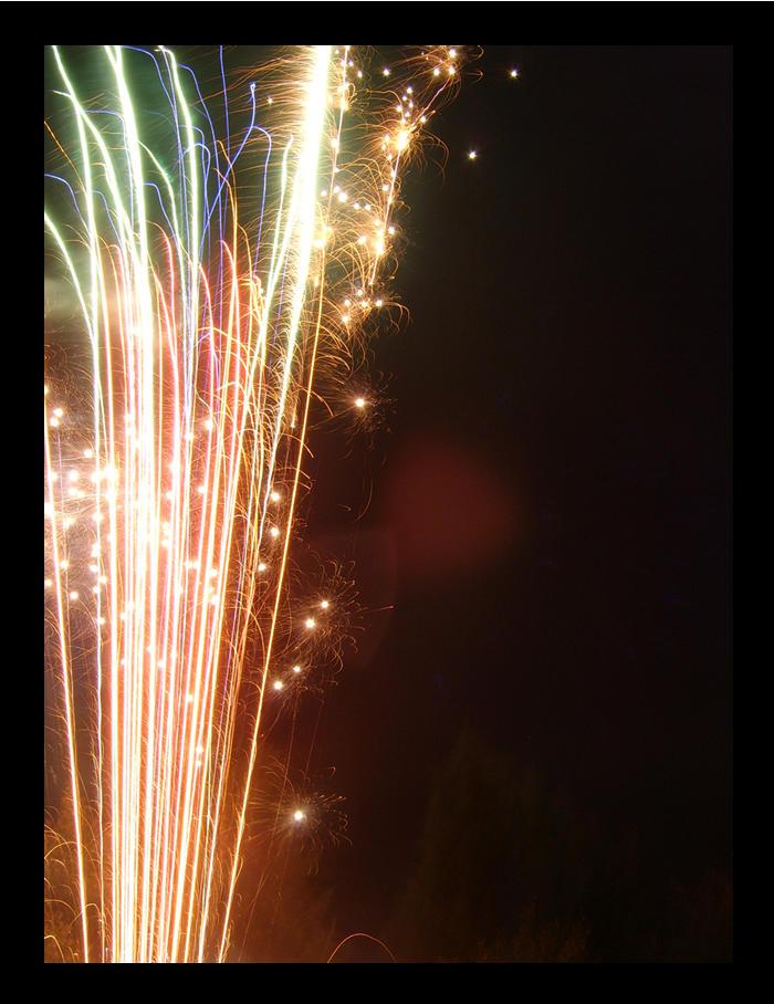 fireworks by blunaowl
