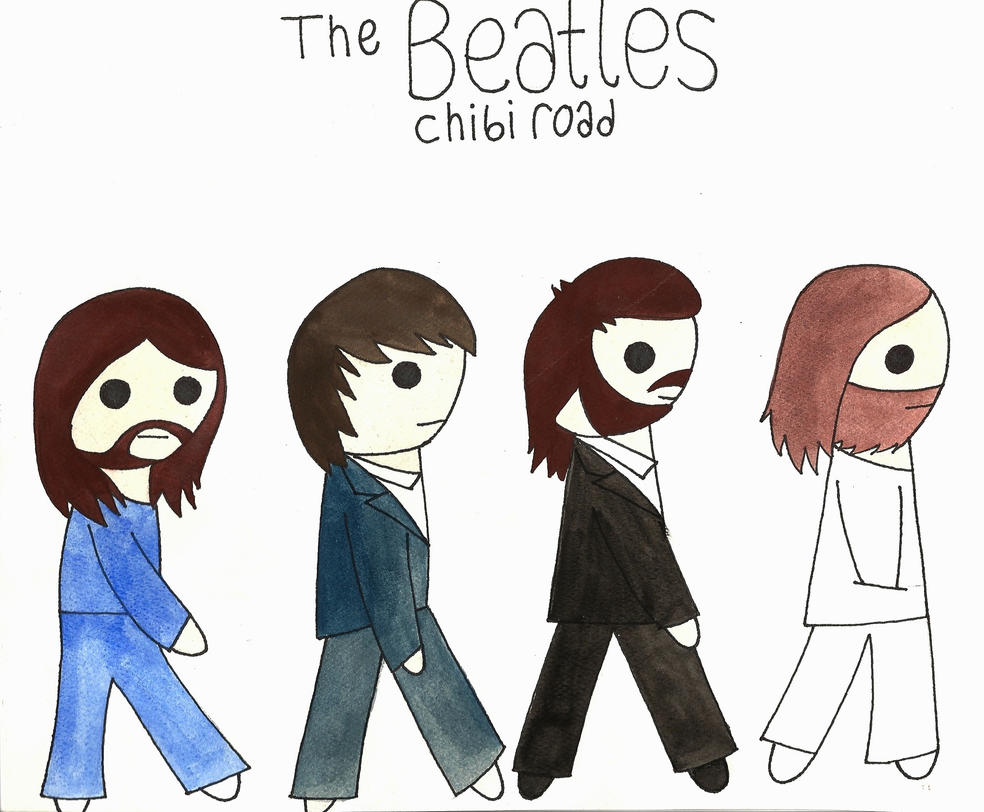*Chibi Beatles by Oceanblue-Art