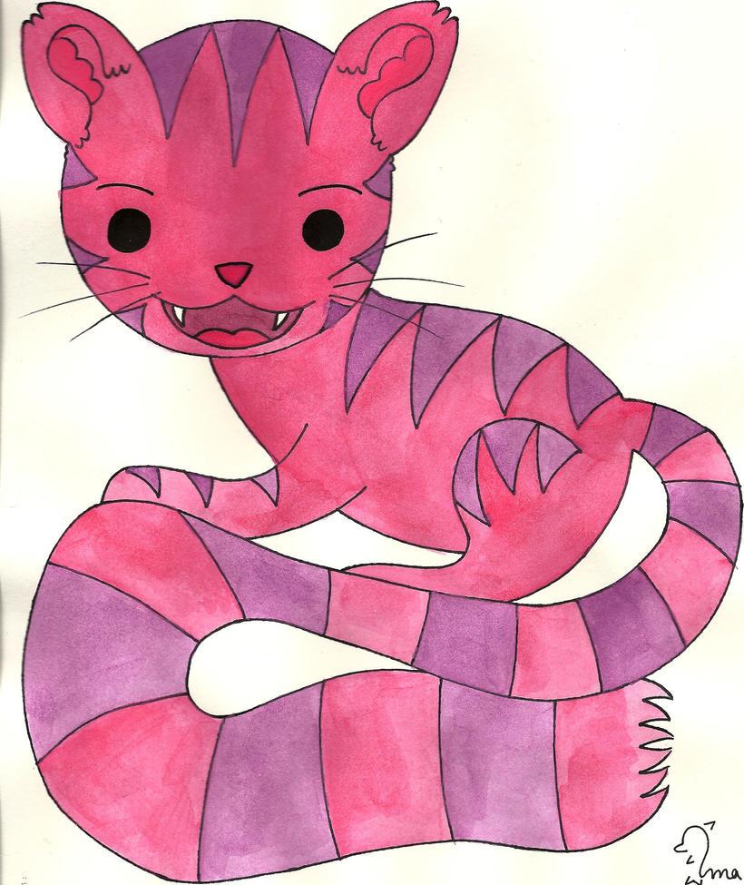 *Cheshire Cat Chibi by Oceanblue-Art