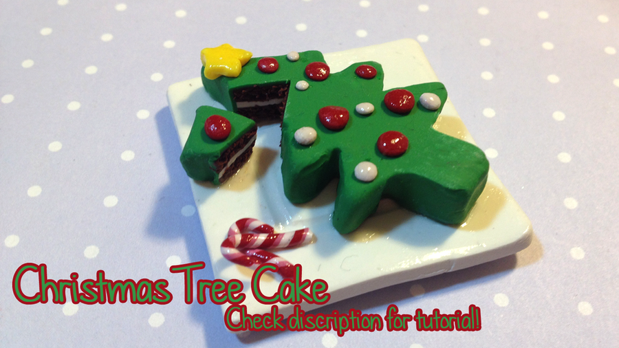 Tutorial: Christmas Tree Cake by octapuu