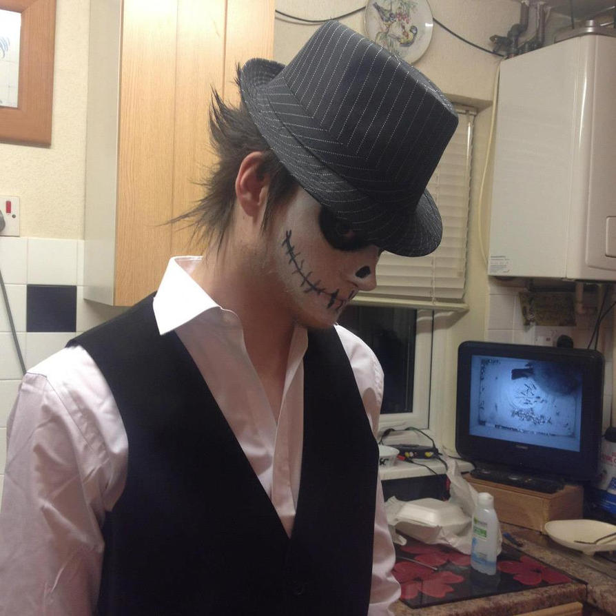 My halloween costume , jack the skeleton by mikey900 on DeviantArt