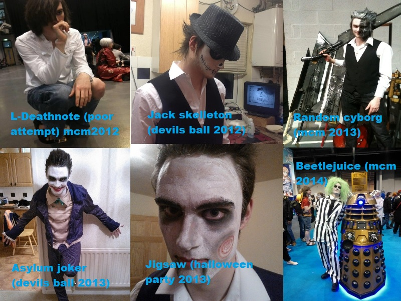 My cosplays 2012 -2014 by mikey900