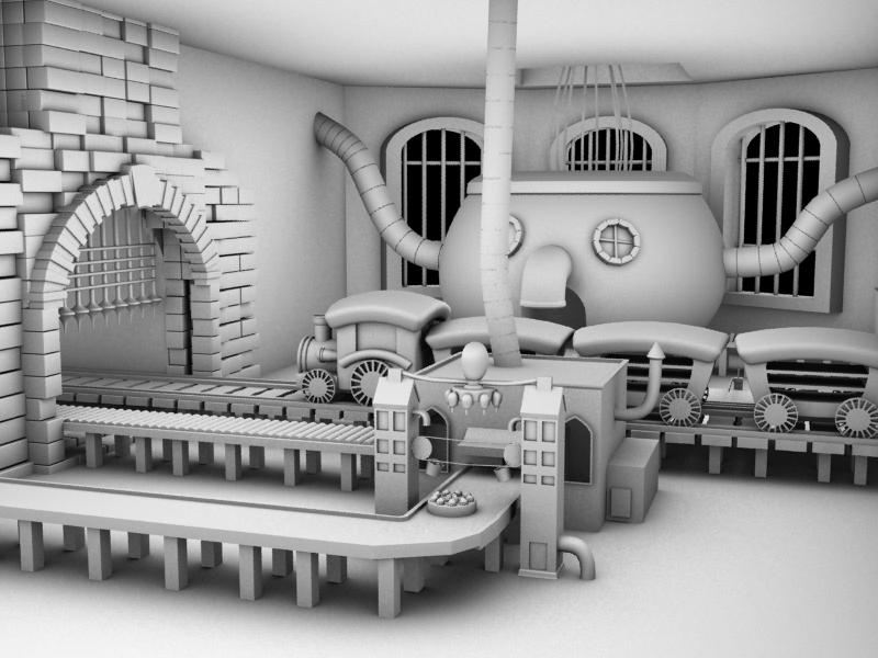 Cake Factory - Modeling by Catfox on deviantART